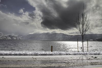 Okanagan Lake Winter, Creating Dynamic Energy, A Daily Affirmation, www.adailyaffirmation.com