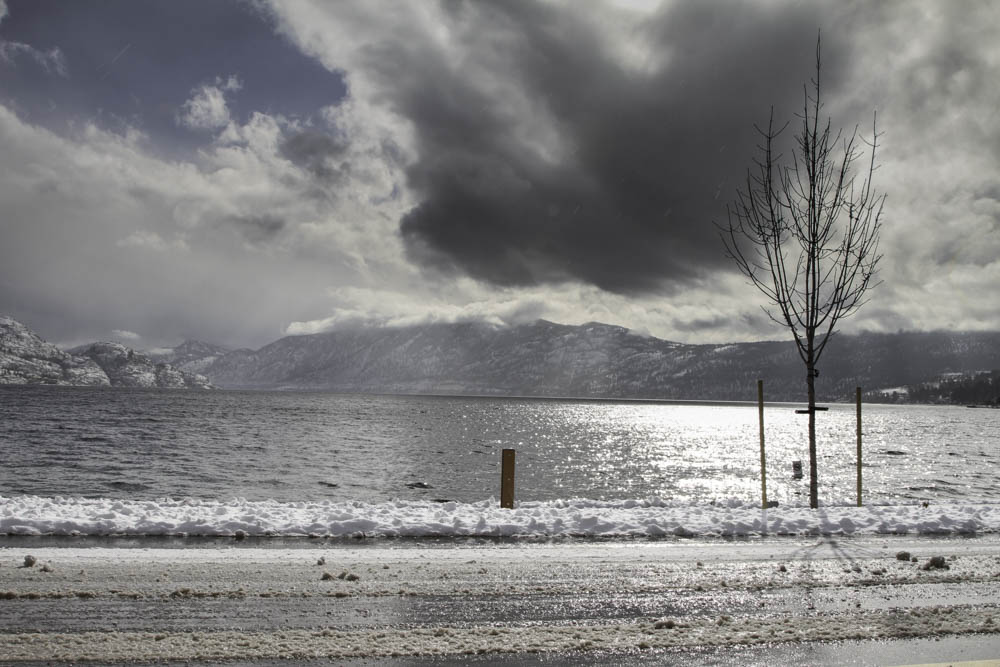 Okanagan Lake Winter, Creating Dynamic Energy, A Daily Affirmation, www.adailyaffirmation.com